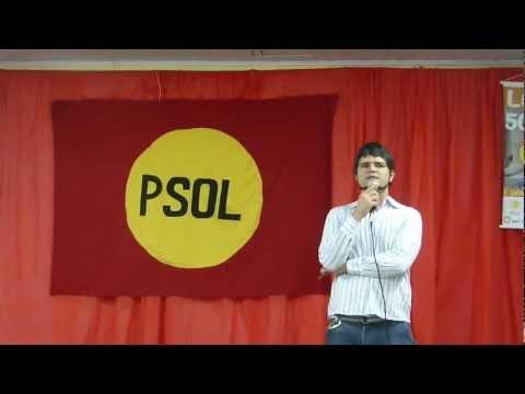Jurandir Silva Na Janta Das Candidaturas Do PSOL Pelotas. Vote50!