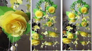 Декор стен. ✂️ Цветы из бумаги. 🌸 3