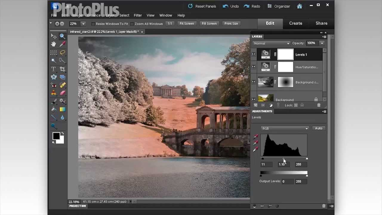 Photoshop elements tutorial how to create an infrared effect photoshop elements tutorial how to create an infrared effect youtube baditri Gallery