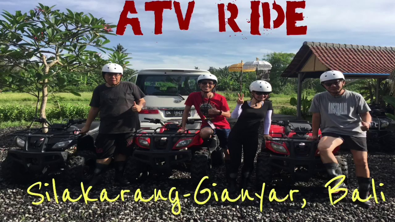 Atv Adventure Bali Youtube