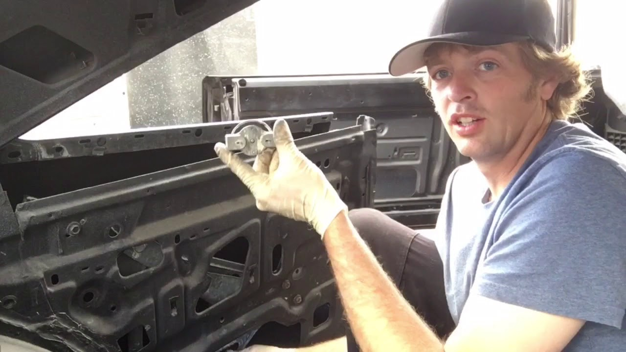 Rear Window Replacement >> Mopar B Body rear window regulator removal and install for ...