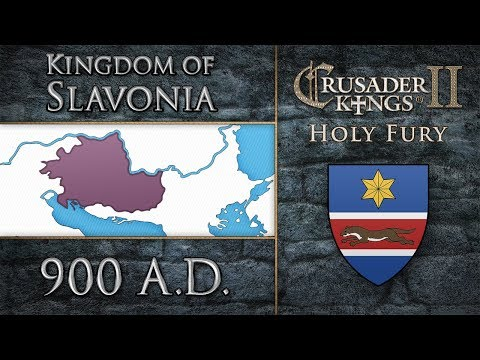 CK2 - Holy Fury - Slavonian Chronicles - Year 818 to 900