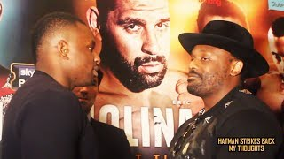 MOST FANS WANT DILLIAN WHYTE VS DERECK CHISORA, NOT LUIS ORTIZ!!!
