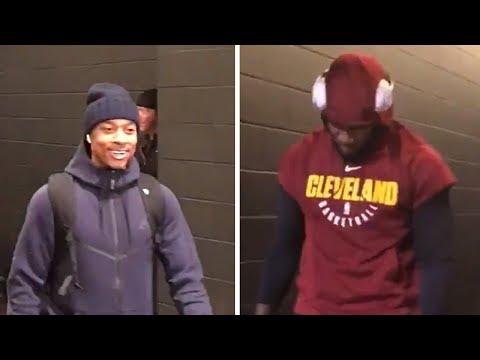 Isaiah Thomas & Jae Crowder Return To Boston To Face Celtics