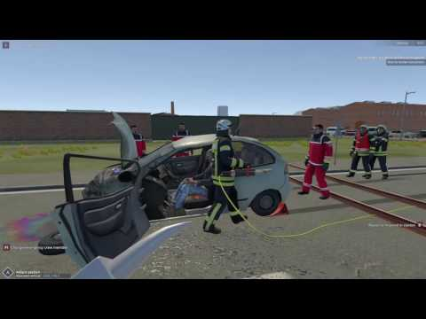 Emergency 112 The Firefighting Simulation – Car Crash