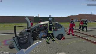 Emergency 112 The Firefighting Simulation - Car Crash