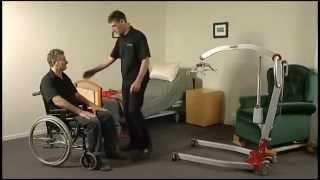 Hasta Taşıma (Kaldırma) Lifti ile Tekerlekli Sandalyeden Yatağa Hasta Transferi 2