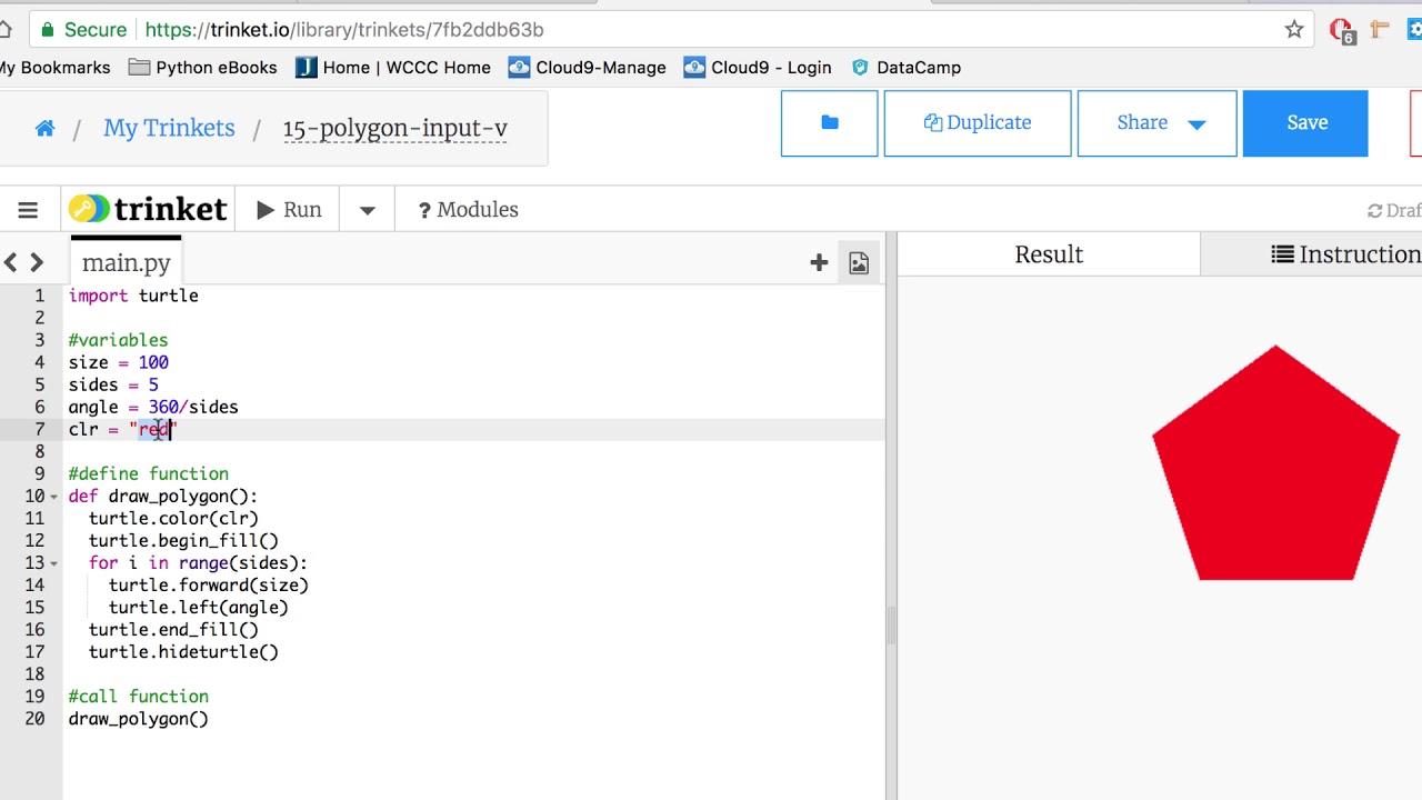 csc103-Polygon-input