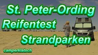 Strandparken mit dem Wohnmobil I Nordsee I General Grabber AT in St. Peter Ording Wohnmobil