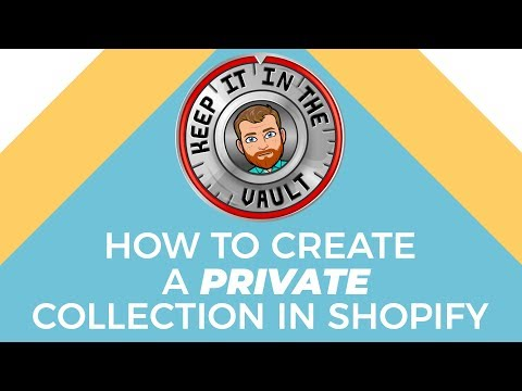 How to create a private collection for tagged customers ( Shopify Tutorial ) thumbnail