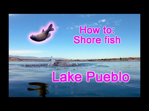 Basic How To Shore Fish Lake Pueblo Reservoir For Bass Walleye Wiper Success