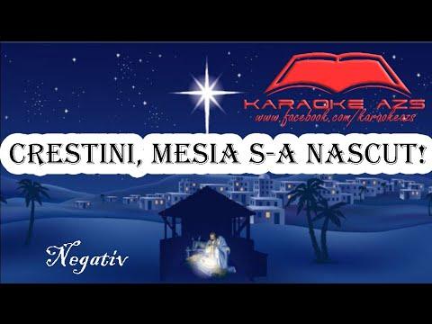 Crestini, Mesia S-a Nascut - Karaoke AZS | Negativ