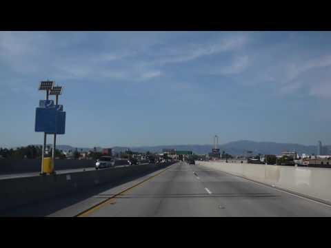 I-110 Elevated Express Lanes in Los Angeles