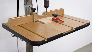 Check out our website article for additional details, parts, tools used, and free plans: https://aroundhomediy.com/build-drill-press-