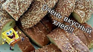 Влог Рецепт дрожжевого и бездрожжевого теста Готовим хлеб Занимаюсь с детьми