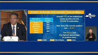 Cuomo says Bronx hardest hit area in state with coronavirus