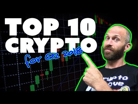 Top 10 Crypto for Q2 2018 (and an ICO...)