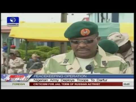 Nigerian Army deploys troops to Darfur for peacekeeping
