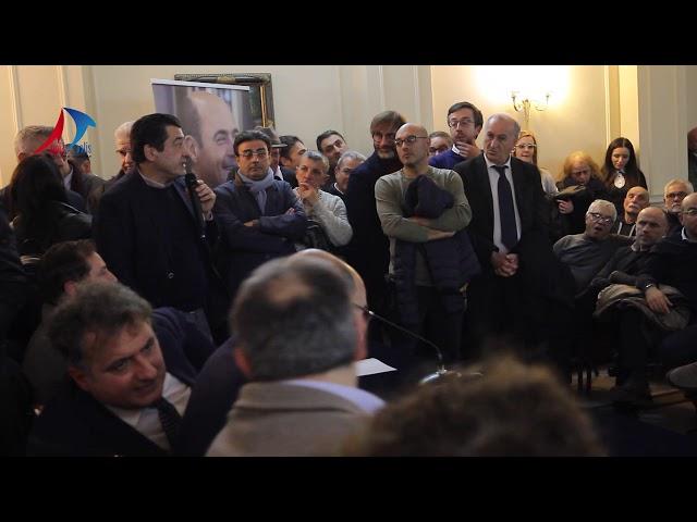 PRIMARIE PD 2019: BAGNO DI FOLLA PER IL CANDIDATO NICOLA ZINGARETTI A CASERTA - APPIA POLIS