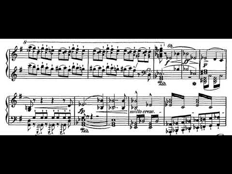 Wagner - Tannhäuser, Prelude to Act 2 (piano score)