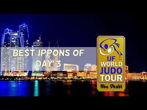 Best ippons in day 3 of Judo Grand Slam Abu Dhabi 2017