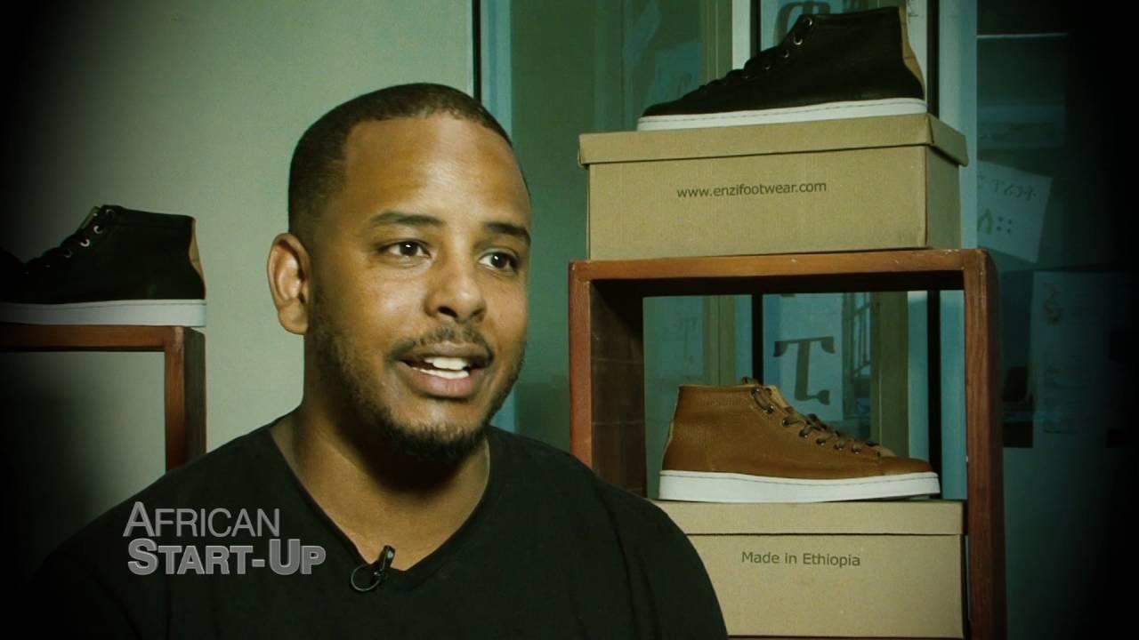 Ethiopia's ENZI Footwear on CNN's African Start up