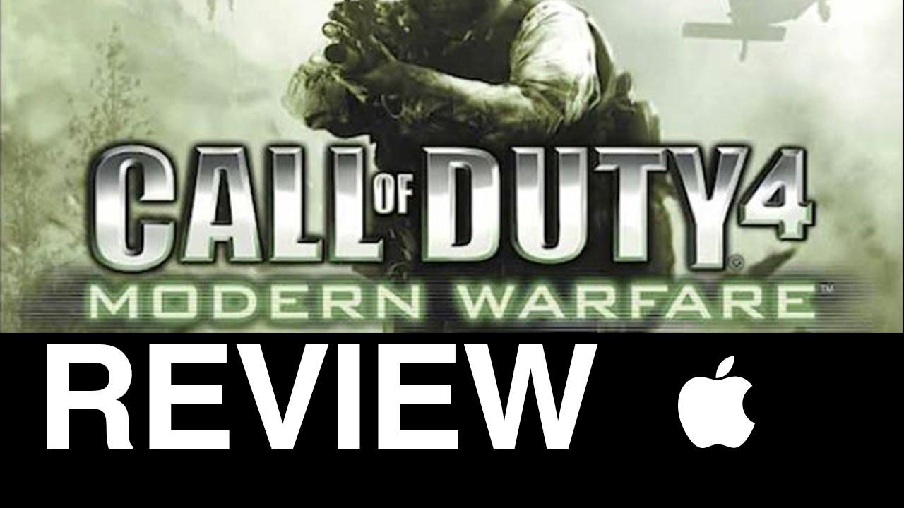 call of duty 4 modern warfare free download full version for mac