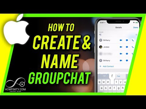 How To Create And Name Group Chat On IPhone