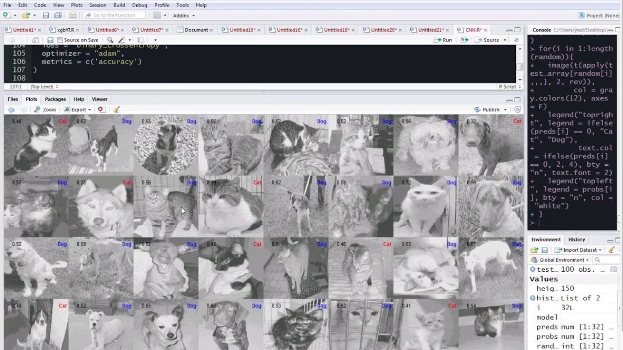 R Tutorial 31: Convolutional Neural Network (CNN) in R using Keras from  Python for Image Recognition