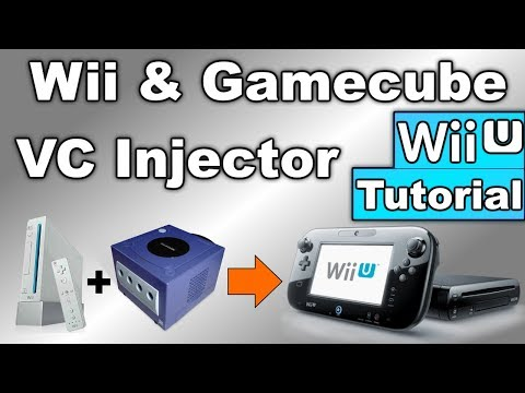 How to Soft-Mod WiiU - Pt: 9 & 10 - Inject Wii & GCN ISO's into Virtual Console Games!