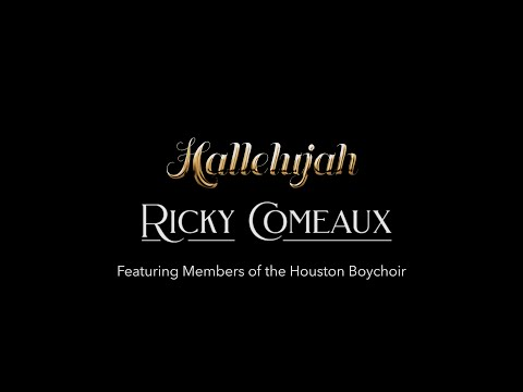 """""""Hallelujah"""" Singalong Lyric Video ft. Ricky Comeaux"""