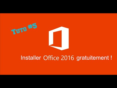 Tuto #5 - Installer Office 2016 gratuitement ! streaming vf