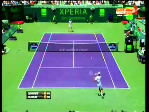 N.Djokovic vs A.Murray - 2st Sony Open