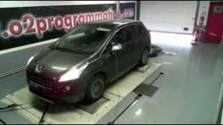 Reprogrammation moteur ::: o2programmation ::: Peugeot 3008 2009 1.6 hdi 110 @ 138ch