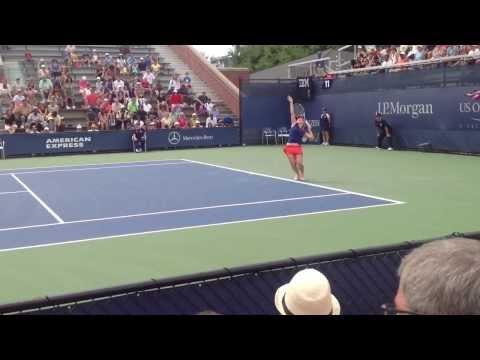 Court 11: Pervak vs Dellacqua - Dellacqua two games from victory.