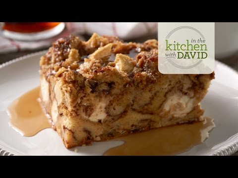 How to Make Apple Cinnamon Roll Bread Pudding
