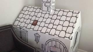 Grumpy Kids 😡 Big Cardboard Playhouse