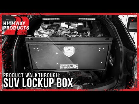 Highway Products | SUV Lockup Boxes