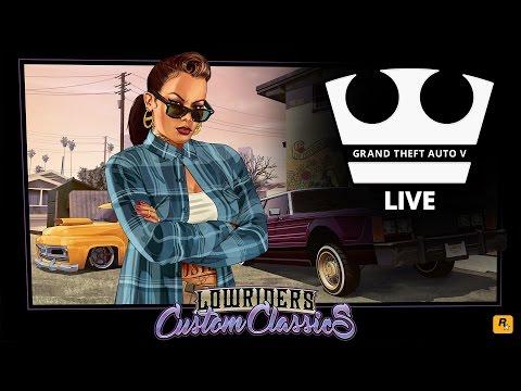 Jirka a GEJMR Hraje - GTA V - Lowriders Custom Classics [PC] [LIVE]