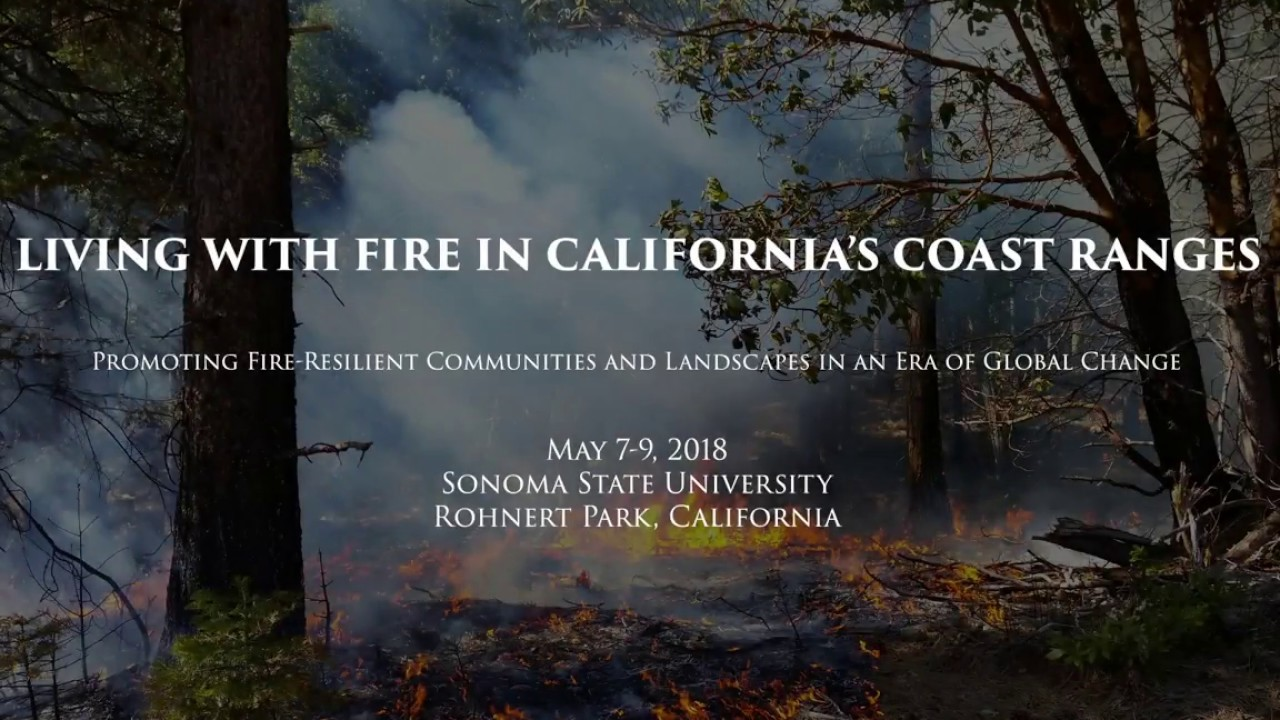 LIVING WITH FIRE IN CALIFORNIA'S COAST RANGES: Promoting