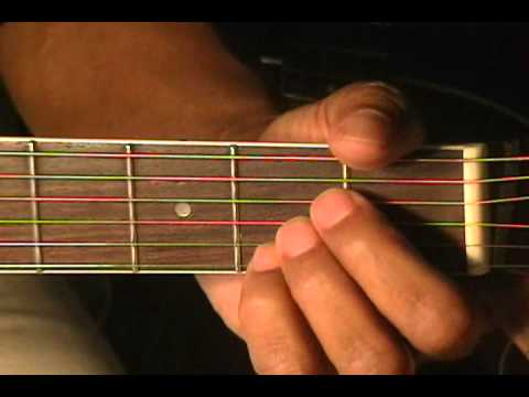 Guitar Chord Form Tutorial #24 Em G C D Bm7 A Guitar Lesson ...