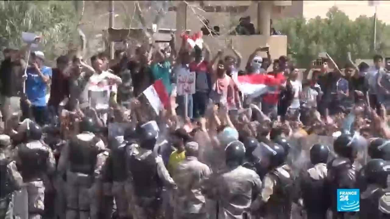 Les Irakiens manifestent contre la vie chère