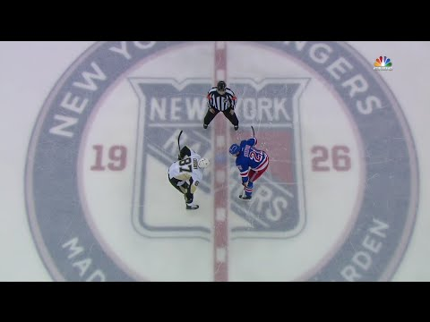 Pittsburgh Penguins @ New York Rangers. Round 1 Game 4