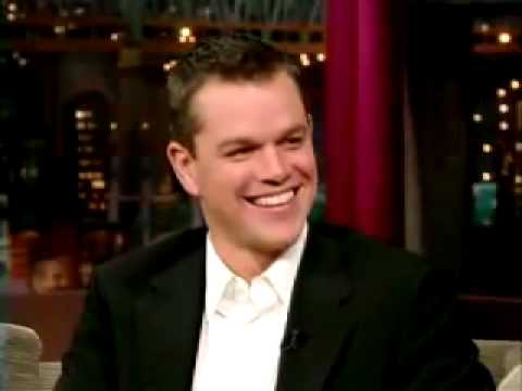 Matt Damon impersonates Matthew McConaughey