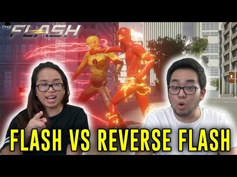 The Flash vs Reverse Flash CW 3D Fan Animation REACTION