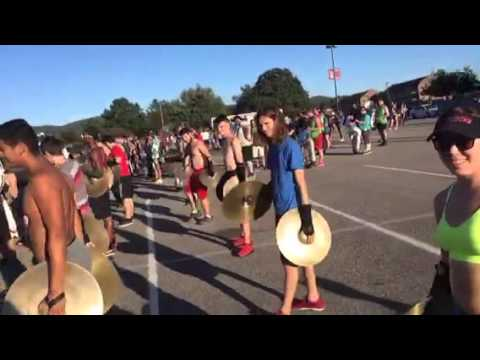 2015 JSU Marching Southerners Rehearsal