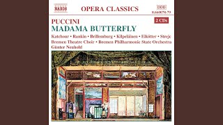 Madama Butterfly (1904 Version) : Act II: Ora a noi. Qui sedete.