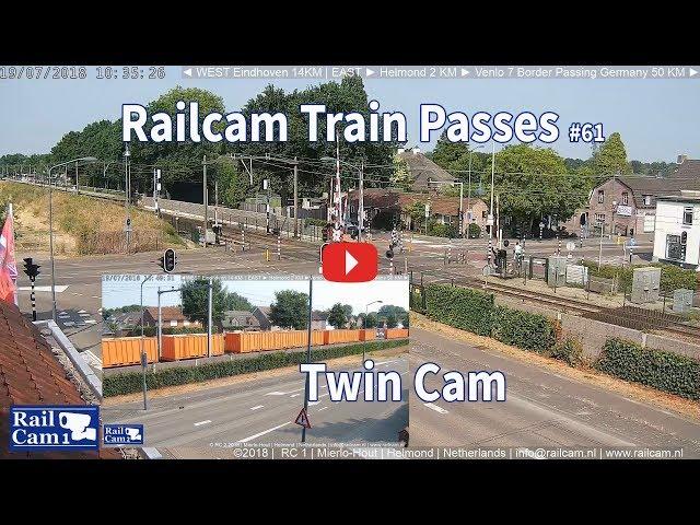 RailCam Train Passes on Twin Cam #63