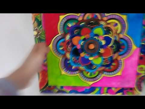 Mandala Boyama Sini Boyadiktan Sonra Youtube