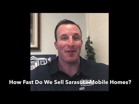 How Long Does It Take To Sell A Sarasota Mobile Home?